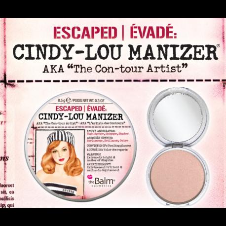 theBalm Хайлайтер Cindy Lou Manizer,8,5 гр7212706026Хайлайтер Mary-Lou привлекает взгляд своим светящимся бронзовым оттенком. Придает коже сияние, мягкость и свежий вид. Можно использовать в качестве хайлатйтера на скулы, поверх румян или отдельно, а также как тени.