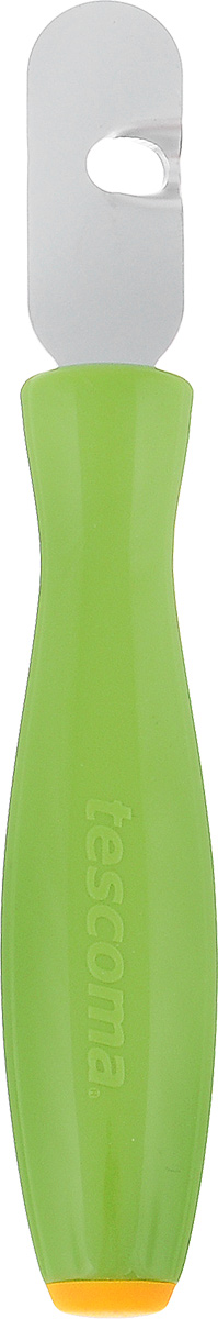 Приспособление для вырезания декоративных дорожек Tescoma Presto Carving721313Приспособление Tescoma Presto Carving предназначено для вырезания спиралей и украшения цедры лимонов, лаймов, апельсинов, грейпфрутов, огурцов, кабачков и других овощей и фруктов. Рабочая часть изделия выполнена из нержавеющей стали, ручка из прочного пластика.Длина приспособления: 15 см.