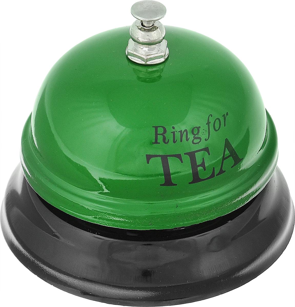 Звонок настольный Эврика Ring For TeaMP60Механический настольный звонок Эврика Ring For Tea изготовлен из металла.С его помощью вы можете оповещать ваших близких о своих желаниях. Этот звонок будет отличным подарком, который принесет хорошее настроение.