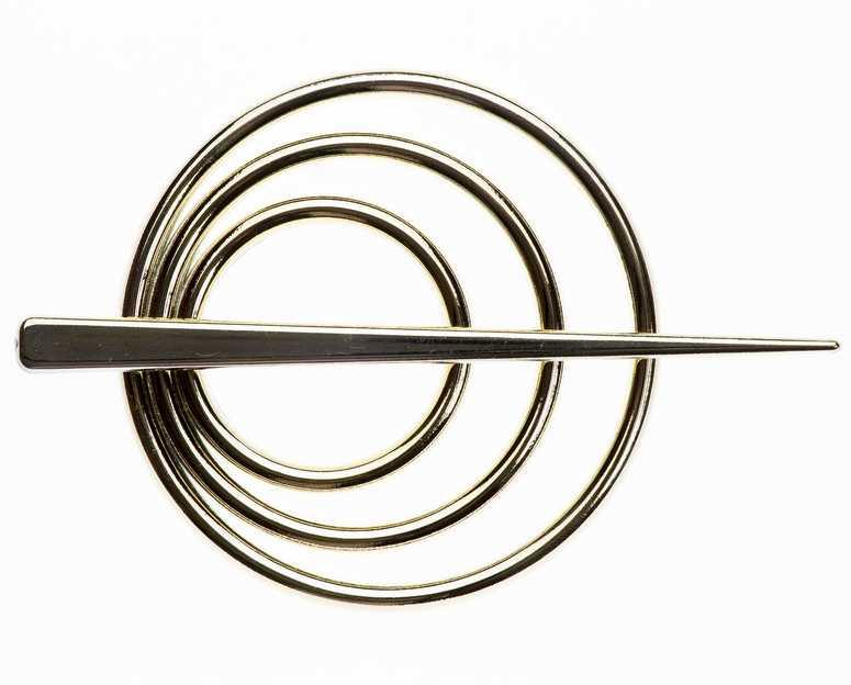 Заколка для штор Goodliving, цвет: золотой, 2 шт7710614_серебряныйЗаколка для штор Goodliving выполнена из высококачественного пластика.Заколка - это основной вид фурнитуры в декоре штор, сочетающий в себе не только декоративную функцию, но и практическую - регулировать поток света. Заколки способны украсить любую комнату.Диаметр декоративной части: 9 см.Длина палочки: 13,5 см.