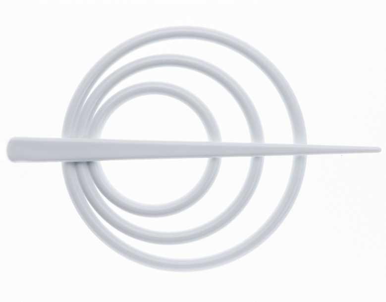 Заколка для штор Goodliving, цвет: белый, 2 шт544092_5НЗаколка для штор Goodliving выполнена из высококачественного пластика.Заколка - это основной вид фурнитуры в декоре штор, сочетающий в себе не только декоративную функцию, но и практическую - регулировать поток света. Заколки способны украсить любую комнату.Диаметр декоративной части: 9 см.Длина палочки: 13,5 см.