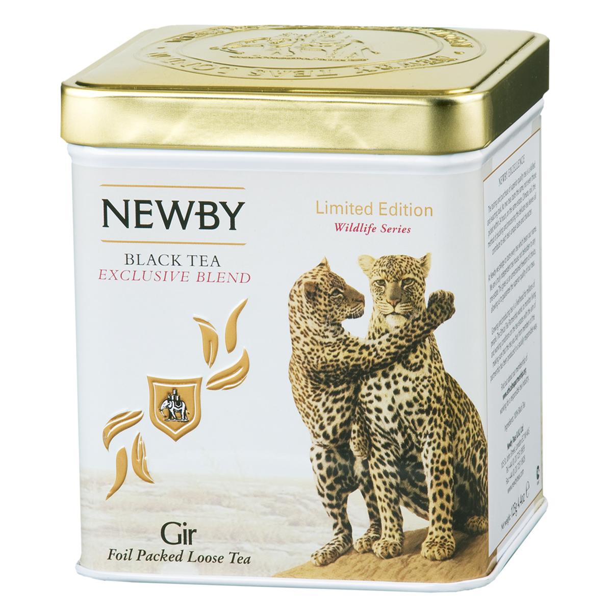 Newby Gir черный листовой чай, 125 г4640000277567Неповторимая смесь премиального черного чая Ассам с золотистыми типсами. Яркий настой с богатым солодовым ароматом и пряным послевкусием.