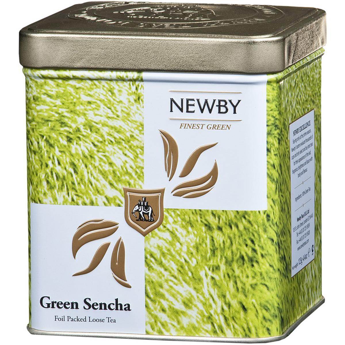 Newby Green Sencha Safari зеленый листовой чай, 125 г0120710Собранные ранней весной, чайные листья этого самого популярного сорта зеленого чая Newby Green Sencha Safari обрабатываются паром, что позволяет сохранить их первозданную свежесть. Обладает насыщенным превосходным ароматом риса.
