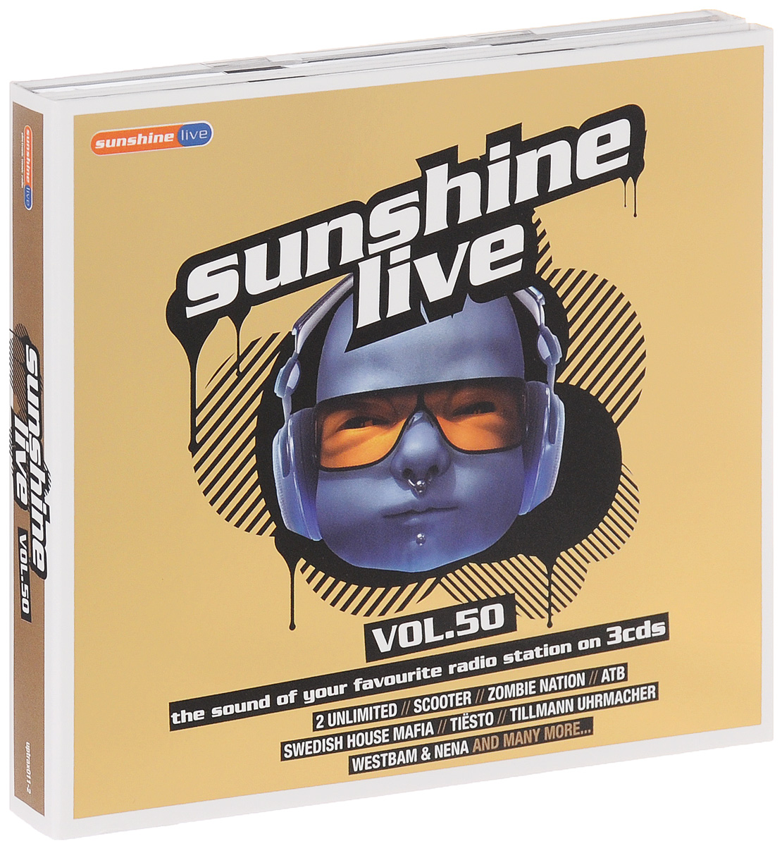 Sunshine Live. Volume 50 (3 CD)