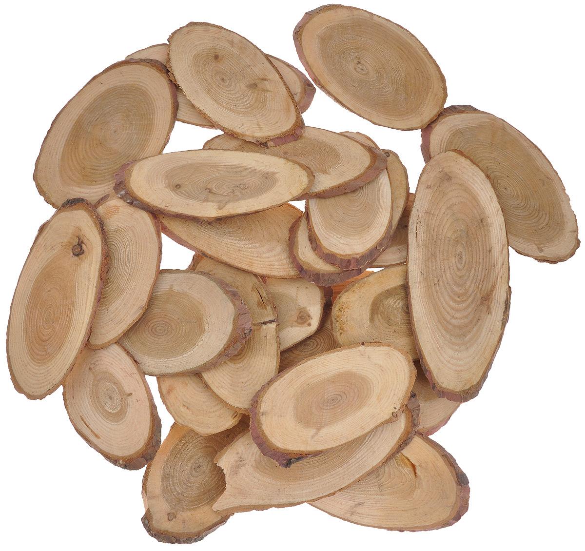 Декоративный элемент Dongjiang Art, цвет: натуральное дерево, толщина 4 мм, 250 г. 770897955052Декоративный элемент Dongjiang Art, изготовленный из натурального дерева, предназначен для украшения цветочных композиций. Изделие можно также использовать в технике скрапбукинг и многом другом. Флористика - вид декоративно-прикладного искусства, который использует живые, засушенные или консервированные природные материалы для создания флористических работ. Это целый мир, в котором естьместо и строгому математическому расчету, и вдохновению.Толщина среза: 4 мм. Средний размер элемента: 4,5 см х 8,5 см.