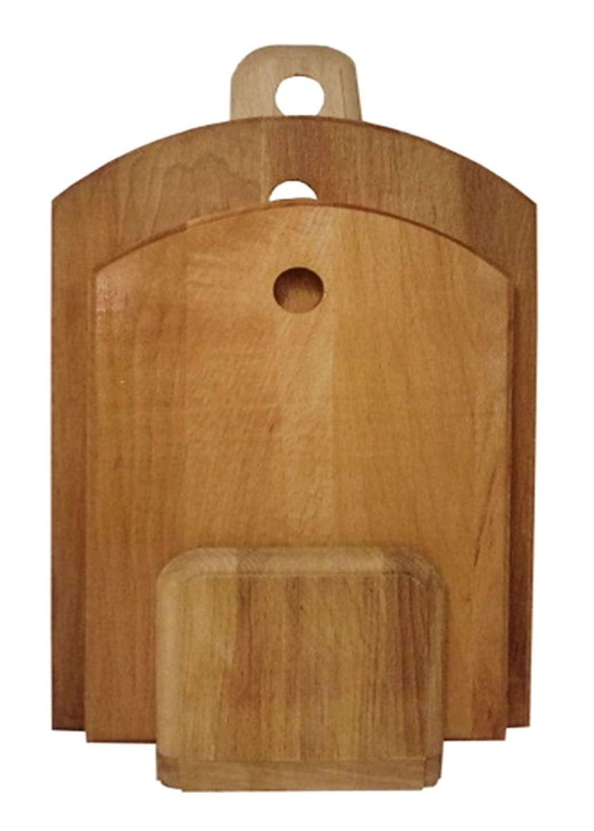 Комплект из 2-х досок полубочка (350Х245Х18, 300Х210Х18)723011Профессиональные разделочные доски из бука TM Хозяюшка произведены на Кавказе - родине восточного бука. Бук боится влаги, но, как в случае со всеми без исключения досками из древесины, вопрос влагостойкости решается пропиткой дерева специальным минеральным или льяным маслом. Масло защищает доску от коробления, рассыхания и растрескивания. Именно поэтому все доски TM Хозяюшка обработаны льняным маслом и упакованы в пленку!