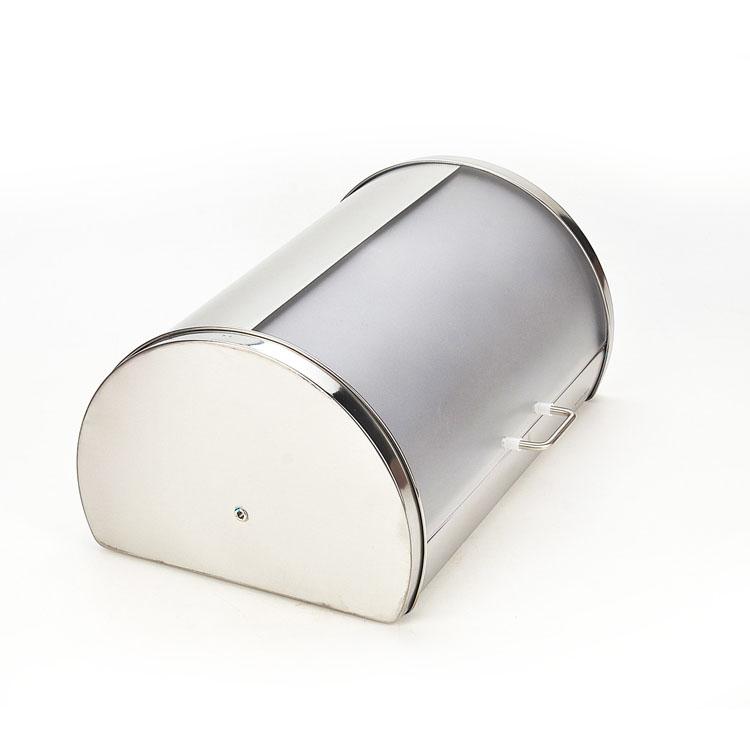 Хлебница Mayer & Boch, 38 см х 26 см х 19 смВетерок 2ГФКлассическая хлебница Mayer & Boch, изготовленная из нержавеющей стали и пластика, поможетнадолгосохранить ваш хлеб свежим. Изделие снабжено удобной крышкой,которая благодаря своему весу плотно прилегает к основанию. Хлебница имеет компактныеразмеры,поэтому не займет много места на вашей кухне. Стильный дизайн, эстетичность и функциональность сделают хлебницу превосходнымаксессуаром на вашей кухне.