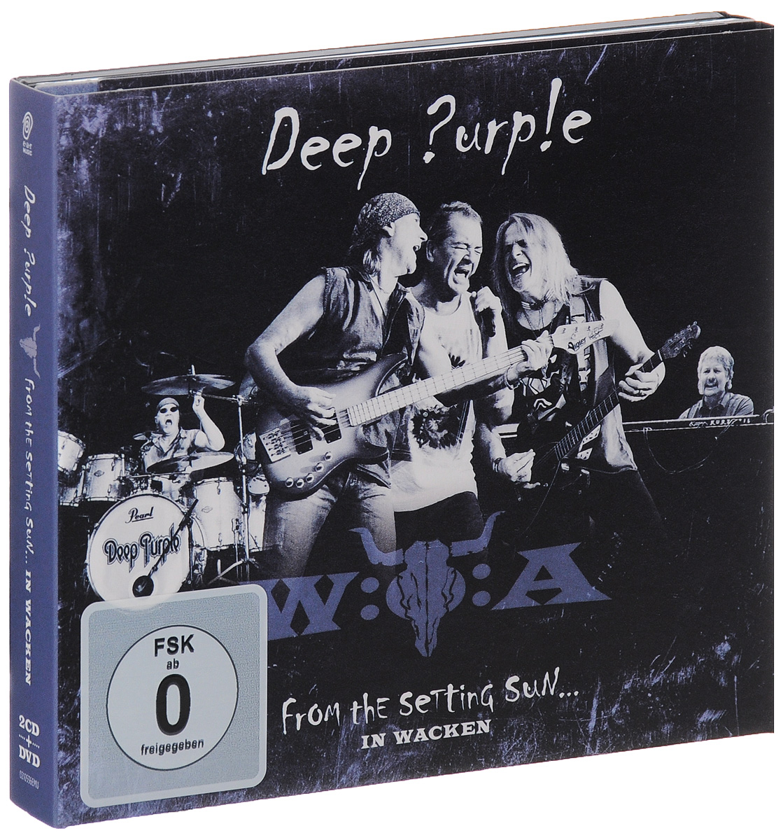 Deep Purple Deep Purple. From the Setting Sun... In Wacken (2 CD + DVD) deep purple deep purple phoenix rising cd dvd