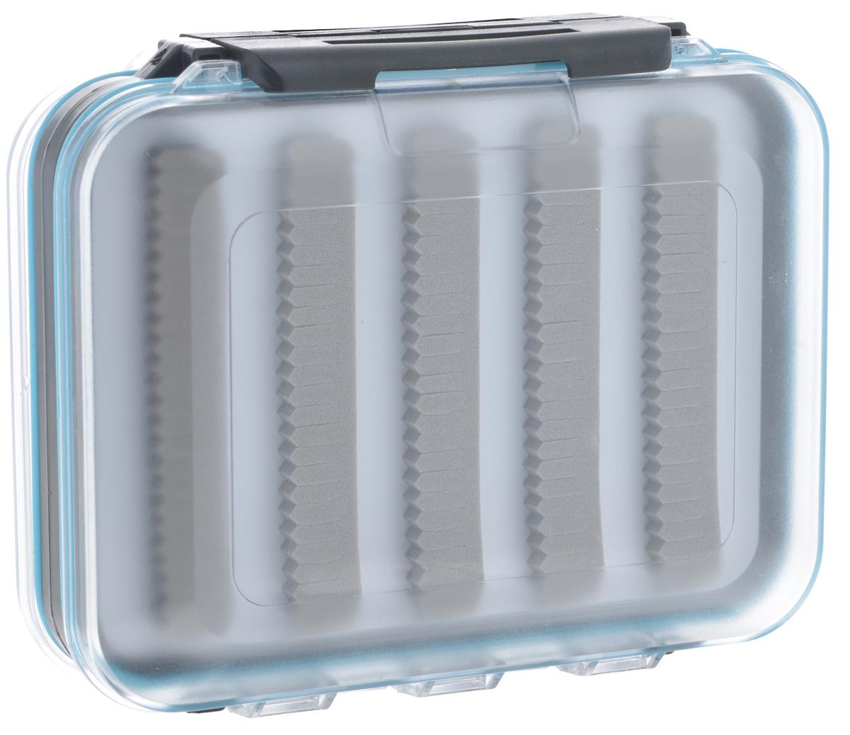 Коробка для приманок Salmo Ice Lure Special 03, 12,5 см х 10,5 см х 4,5 см680266/8952818 синийДвусторонняя водонепроницаемая коробка Salmo Ice Lure Special 03 оснащена специальными вставками из вспененного материала, позволяющими закреплять приманки (мормышки, балансиры и блесны), не втыкая их в материал, а зажимая в нем крючки. Такая система в разы увеличивает срок службы коробки. Изделие выполнено из высококачественного пластика. Коробка оборудована прочными замками, предотвращающими случайное открывание.