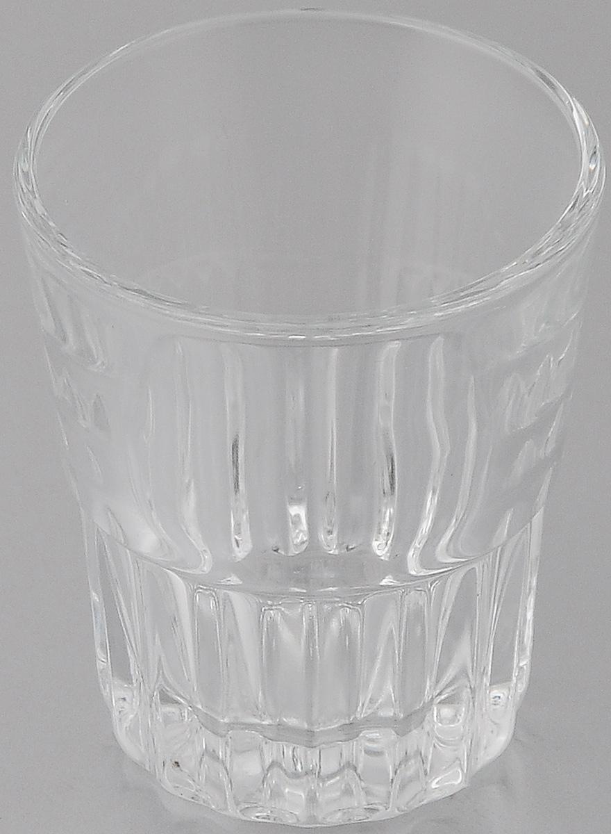 Стопка OSZ, цвет: прозрачный, 50 мл4630003364517Стопка OSZ изготовлена из бесцветного стекла. Идеально подходит для сервировки стола.Стопка не только украсит ваш кухонный стол и подчеркнет прекрасный вкус хозяйки. Диаметр стопки (по верхнему краю): 5 см. Диаметр основания: 3,5 см. Высота стопки: 6 см.