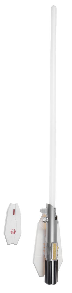 Star Wars Светильник Световой меч 8 цветов15078Светильник Star Wars Световой меч станет великолепным украшением комнаты любого поклонника знаменитой космической саги. Меч дополнен звуковыми эффектами и светится одним из восьми цветов, не раздражает глаза и прекрасно подходит на роль ночника. Благодаря входящему в комплект пульту дистанционного управления вы сможете переключать цвета и включать и выключать светильник, не вставая с кровати.В комплект входят элементы для сборки меча-светильника и схематичная инструкция по сборке на русском языке. Ребенок сможет не только собрать оригинальный ночник своими руками, но и познакомиться с основами моделирования и электроники. Для сборки необходима крестовая отвертка. Для работы меча необходимо докупить 3 батарейки напряжением 1,5V типа ААА (не входят в комплект). Для работы пульта необходимо докупить 2 батарейки напряжением 1,5V типа ААА (не входят в комплект).