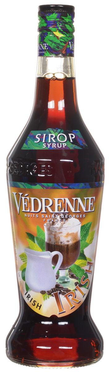 Vedrenne Айриш Крим сироп, 0,7 л0120710Сироп Vedrenne Ирландский крем придется по душе поклонникам пикантных вкусов. Данныйпродукт характеризуется очаровательным ароматом с тонами темного шоколада, карамели,кофе и ненавязчивым мотивом ирландского виски. Во вкусе сиропа вы различите превосходныеоттенки сливок, пралине, меда и орехов, которые развиваются на фоне ярких шоколадных нот.Благодаря оптимальному содержанию сахара, французский сироп Vedrenne Ирландский кремимеет приятную тягучую структуру, что позволяет использовать его в качестве украшения дляразличных сладких блюд и кондитерских изделий. Особенно привлекательные вкусовыесочетания можно получить путем данного добавления сиропа в горячий кофе или молочныекоктейли.Сиропы изготавливаются на основе натурального растительного сырья, фруктовых и ягодныхсоков прямого отжима, цитрусовых настоев, а также с использованием очищенной воды безвредных примесей, что позволяет выдержать все ценные и полезные свойства натуральныхфруктово-ягодных плодов и трав. В состав сиропов входит только натуральный сахар,произведенный по традиционной технологии из сахарозы. Благодаря высокому содержаниюконцентрированного фруктового сока, сиропы Vedrenne обладают изысканным ароматом инатуральным вкусом, являются эффективным подсластителем при незначительнойкалорийности. Они оптимизируют уровень влажности и процесс кристаллизации десертов,хорошо смешиваются с другими ингредиентами и способствуют улучшению вкусовых качествнапитков и десертов.Сиропы Vedrenne разливаются в стеклянные бутылки с яркими этикетками, на которыхизображен фрукт, ягода или другой ингредиент, определяющий вкусовые оттенки того илииного продукта Vedrenne. Емкости с сиропами Vedrenne герметичны, поэтому не позволяютсодержимому контактировать с микроорганизмами и другими губительными внешнимивоздействиями. Кроме того, стеклянные бутылки выглядят оригинально и стильно.В настоящее время компания Vedrenne считается одним из лучших производителейвысококлассных сиропов, отлич