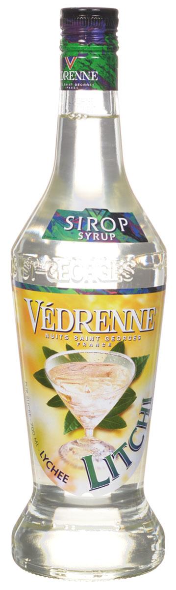Vedrenne Личи сироп, 0,7 л0120710Сироп Личи — это один из самых необычных видов ароматных добавок. Родиной личи является Китай, поэтому данный плод часто называют китайской сливой.Сироп Личи применяется в качестве добавки для кофе и других горячих напитков, а также для газировки, лимонада, йогуртов, компотов и т. д.Сиропы изготавливаются на основе натурального растительного сырья, фруктовых и ягодных соков прямого отжима, цитрусовых настоев, а также с использованием очищенной воды без вредных примесей, что позволяет выдержать все ценные и полезные свойства натуральных фруктово-ягодных плодов и трав. В состав сиропов входит только натуральный сахар, произведенный по традиционной технологии из сахарозы. Благодаря высокому содержанию концентрированного фруктового сока, сиропы Vedrenne обладают изысканным ароматом и натуральным вкусом, являются эффективным подсластителем при незначительной калорийности. Они оптимизируют уровень влажности и процесс кристаллизации десертов, хорошо смешиваются с другими ингредиентами и способствуют улучшению вкусовых качеств напитков и десертов.Сиропы Vedrenne разливаются в стеклянные бутылки с яркими этикетками, на которых изображен фрукт, ягода или другой ингредиент, определяющий вкусовые оттенки того или иного продукта Vedrenne. Емкости с сиропами Vedrenne герметичны, поэтому не позволяют содержимому контактировать с микроорганизмами и другими губительными внешними воздействиями. Кроме того, стеклянные бутылки выглядят оригинально и стильно.В настоящее время компания Vedrenne считается одним из лучших производителей высококлассных сиропов, отличающихся натуральным вкусом, а также насыщенным ароматом и глубоким цветом. Фруктовые сиропы Vedrenne пользуются большой популярностью не только во Франции (где их широко используют как в сегменте HoReCa, так и в домашних условиях), но и экспортируются более чем в 50 стран мира.Цвет: жемчужныйАромат: сильный, элегантный со свежими нотами плодов личиВкус: свежий, яркий, приторно-сладкий вкус спелог