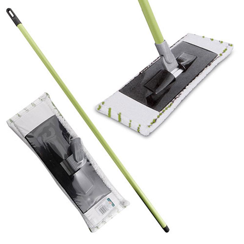 Швабра Centi, цвет: салатовый, белый10503Швабра Centi предназначена для сухой и влажной уборки в доме. Швабра удобна в использовании благодаря подвижному креплению ручки к моющей платформе с насадкой.Сменная насадка выполнена из полимера, которая впитывает воду и грязь подобно губке. Такая насадка позволит вам использовать во время уборки меньшее количество чистящих средств. Насадка из полимера легко удаляет пыль, не оставляя разводов и ворсинок. Она подходит для всех видов гладких полов из плитки, паркета, ламината и камня. Швабра оснащена специальной петлей, благодаря которой швабру можно подвесить в любом удобном месте.Платформа швабры выполнена из высокопрочного пластика. Платформа может двигаться под любым углом, на любой плоскости. Подвижная платформа позволяет вымыть полы, не отодвигая крупногабаритную мебель, протереть стены от пыли за шкафами.Длина ручки: 113 см.Размер насадки: 41 см х 15 см.