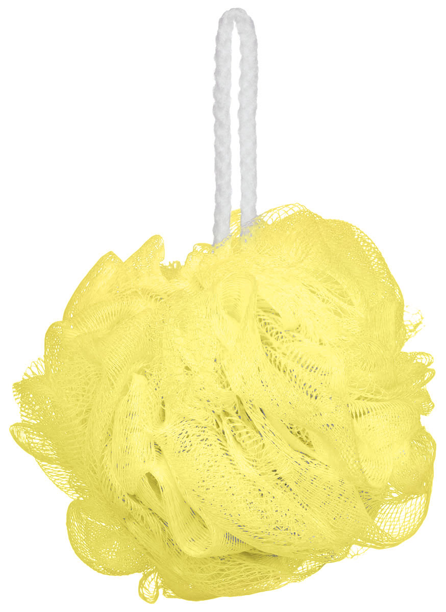 Riffi Мочалка-губка Массажный цветок, средняя, цвет: желтый. 340340_желтыйМочалка Riffi Массажный цветок не вызывает аллергии, обладает хорошими моющими и пилинговыми свойствами. Она дает много пены при малом количестве мыла или моющего геля. Для удобства применения снабжена веревочной петлей.Товар сертифицирован.