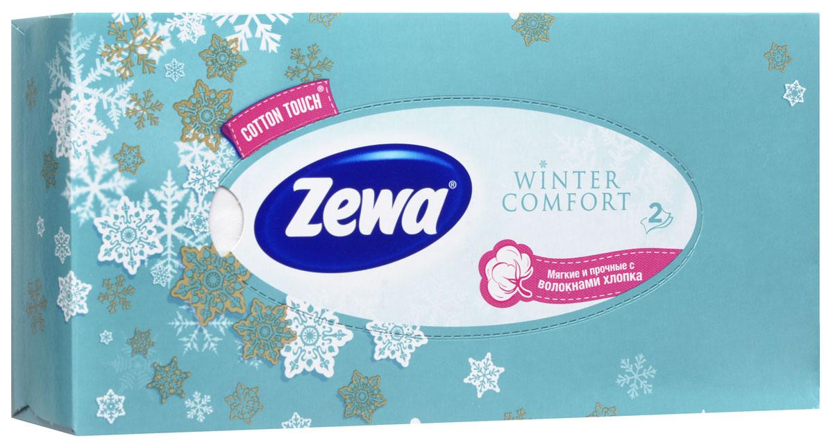 Zewa Платки косметические в коробке Winter comfort, двухслойные, цвет: бирюзовый, 100 штSC-FM20104Мягкие двухслойные гигиенические салфетки Zewa Winter comfort изготовлены из 100% целлюлозы и волокон. Обладают большой впитывающей способностью. Не вызывают аллергии, не раздражают чувствительную кожу. Просты и удобны в использовании.Товар сертифицирован.