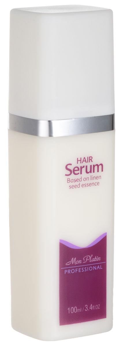 Mon Platin Professional Сыворотка для волос 100млFS-00897Сыворотка для волос из семян льна сохраняет и защищает волосы во время сушки феном, облегчает расчесывание окрашенных волос, придает эластичность и упругость волосам, жизненную энергию и здоровый блеск; склеивает посеченные концы и предохраняет сухие, ломкие волосы от дальнейшей деформации. Рекомендуется для ежедневного использования для поврежденных, окрашенных волос.