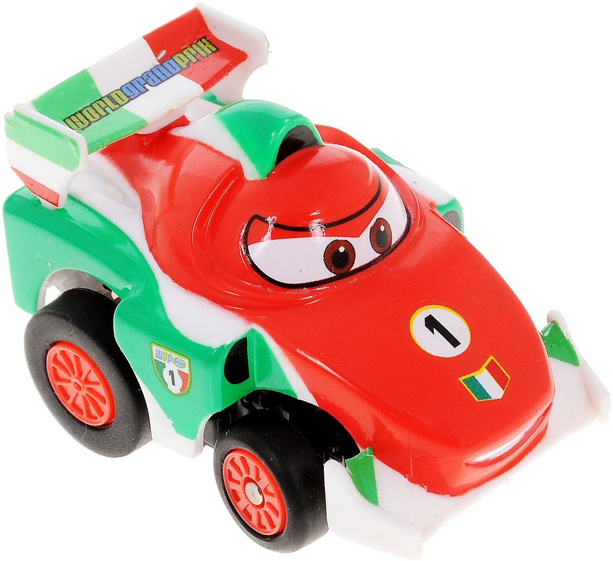"""Машинка на инфракрасном управлении Dickie Toys """"Тачки: Francesco"""" - это полная копия полюбившегося героя мультсериала """"Тачки"""" Франческо Бернулли. Игрушка может двигаться вперед, дает задний ход, поворачивает влево и вправо, останавливается.Точная настройка управления, 2 скорости, подзарядка от пульта дистанционного управления сделают игру комфортной и увлекательной. Машинка на инфракрасном управлении Dickie Toys """"Тачки: Francesco"""" станет отличным подарком поклоннику этого популярного мультфильма! Игрушка работает от встроенного аккумулятора. Для работы пульта управления необходимы 4 батарейки типа ААА (не входят в комплект)."""