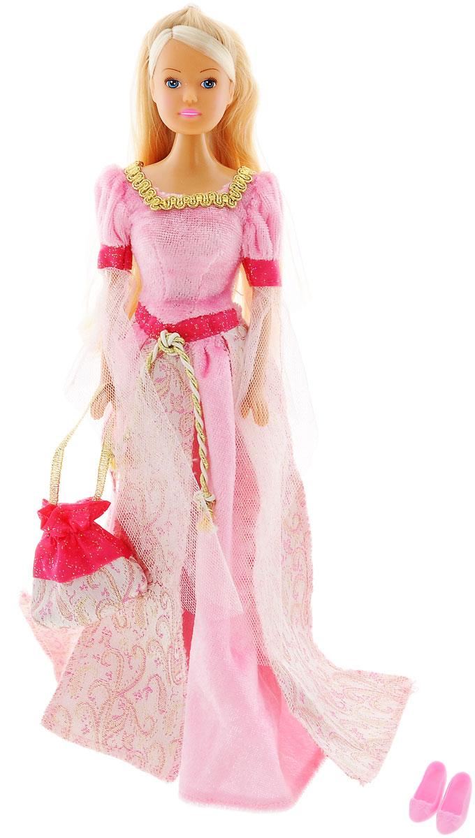 Simba Кукла Штеффи в Средневековье цвет платья розовый