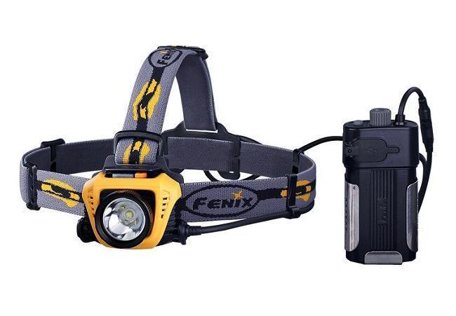 Фонарь налобный Fenix HP30 желтый - Фонари и лампы
