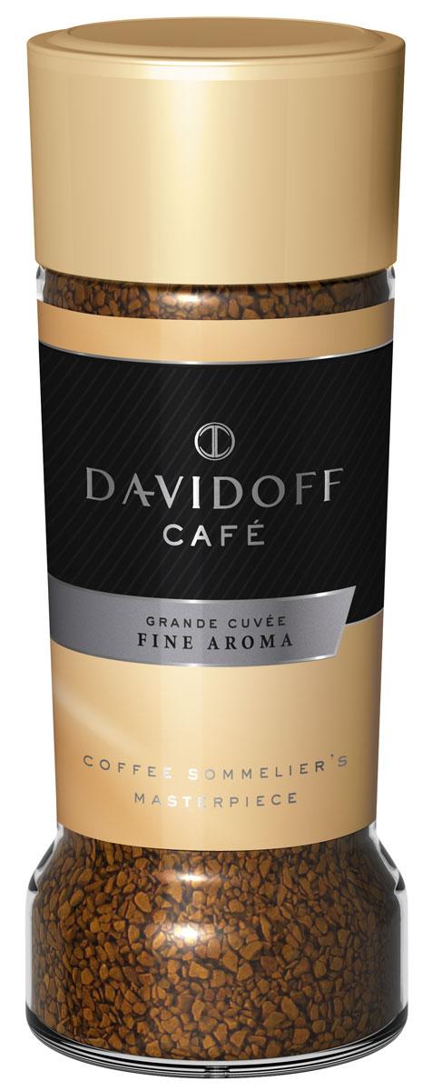 Davidoff Fine кофе растворимый, 100 г0120710Davidoff Fine - уникальная композиция со вкусом средней насыщенности и благородной кислинкой, отличающаяся утонченным ароматом. Безупречное качество этого напитка покорит самых искушенных ценителей.