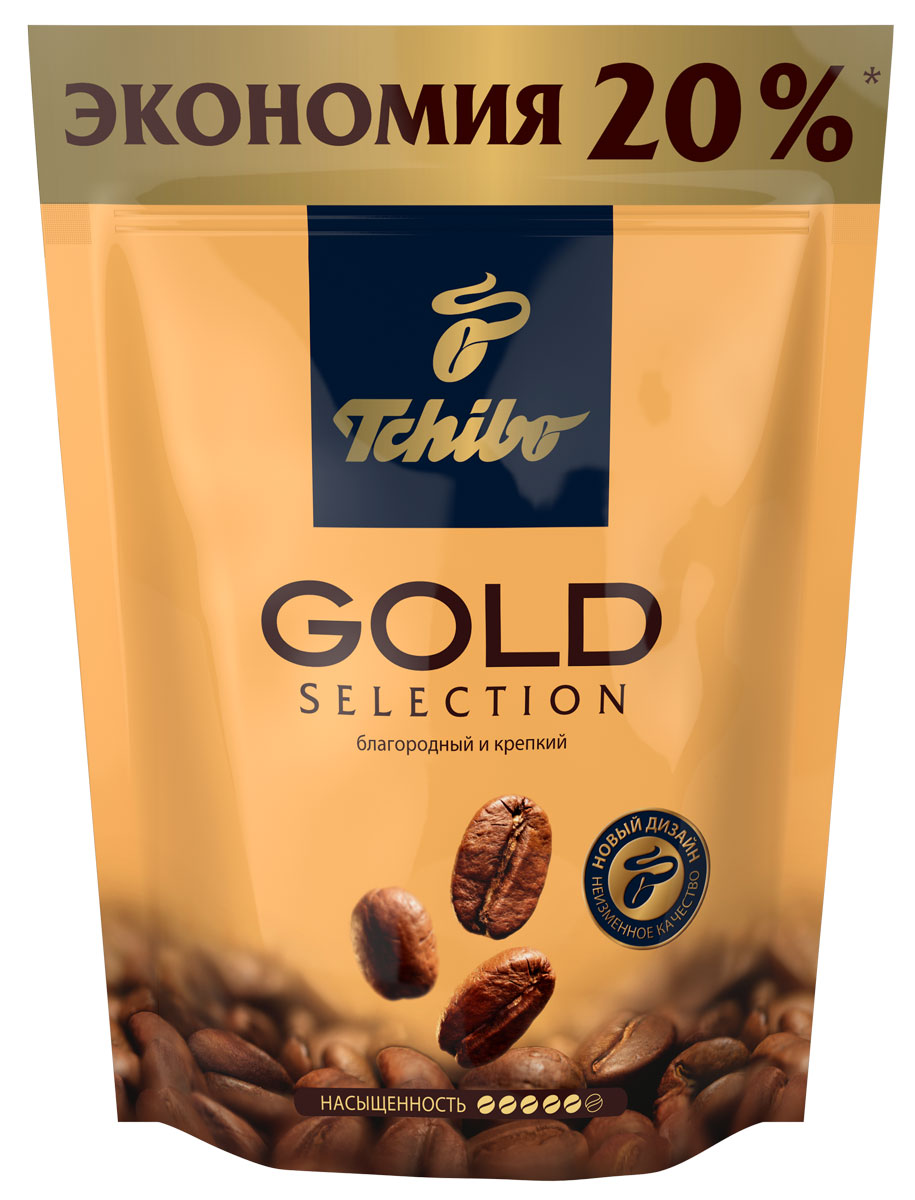 Tchibo Gold Selection кофе растворимый, 150 г0120710Порадуйте себя благородным вкусом и насыщенным ароматом кофе Tchibo Gold Selection. Зерна Tchibo Gold Selection тщательно обжариваются небольшими партиями до благородного золотисто-коричневого оттенка. Эта особая золотистая обжарка позволяет раскрыть необычайно богатый вкус и насыщенный аромат кофейных зерен.