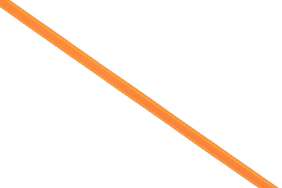 Лента атласная Prym, цвет: оранжевый, ширина 3 мм, длина 50 м55052Атласная лента Prym изготовлена из 100% полиэстера. Область применения атласной ленты весьма широка. Изделие предназначено для оформления цветочных букетов, подарочных коробок, пакетов. Кроме того, она с успехом применяется для художественного оформления витрин, праздничного оформления помещений, изготовления искусственных цветов. Ее также можно использовать для творчества в различных техниках, таких как скрапбукинг, оформление аппликаций, для украшения фотоальбомов, подарков, конвертов, фоторамок, открыток и многого другого.Ширина ленты: 3 мм.Длина ленты: 50 м.