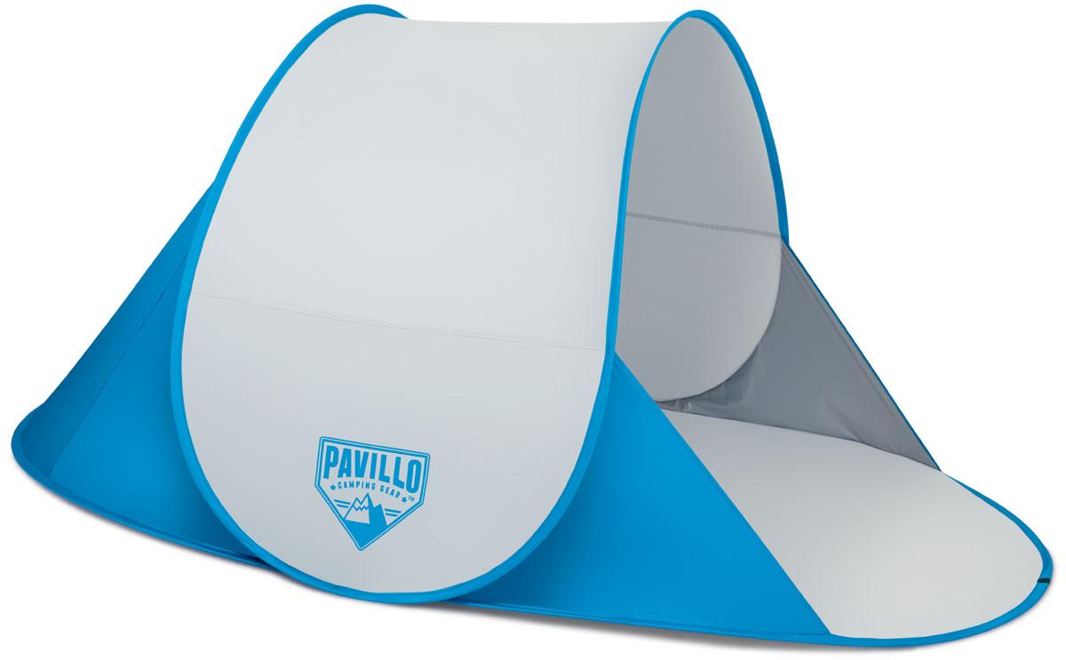 Bestway Палатка пляжная Secura, 192 х 120 х 85 см. 6804567742Легко собирается. Внутри кармашек для хранения личных вещей. Изготовлено из полиэстера и полимерных материалов. Размер: 200 х 130 х 90 см.