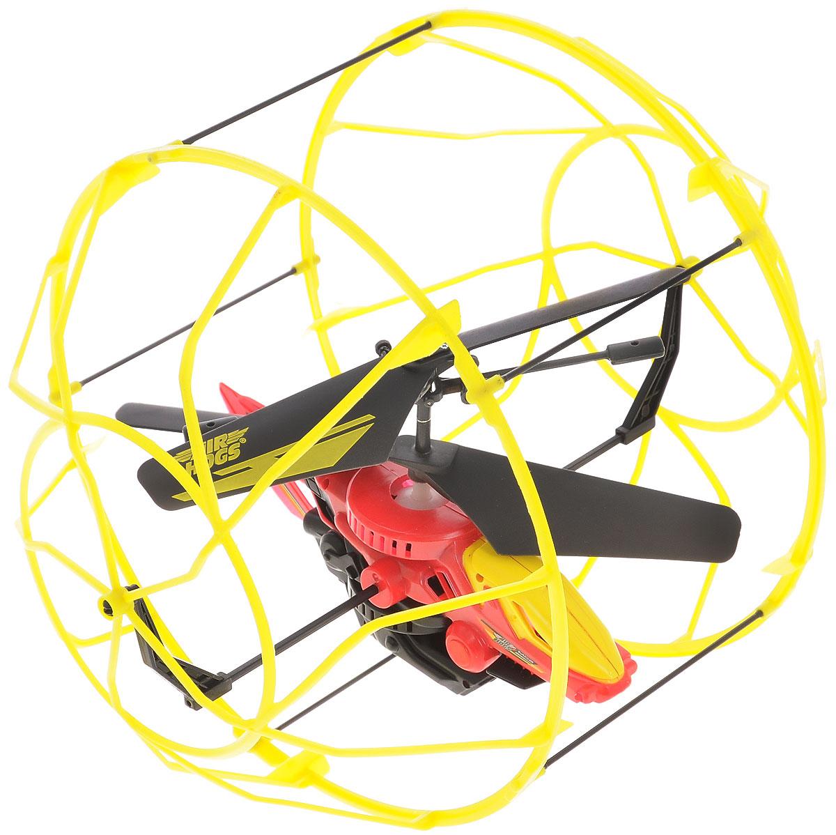 Air Hogs Вертолет на радиоуправлении Roller Copter цвет желтый красный