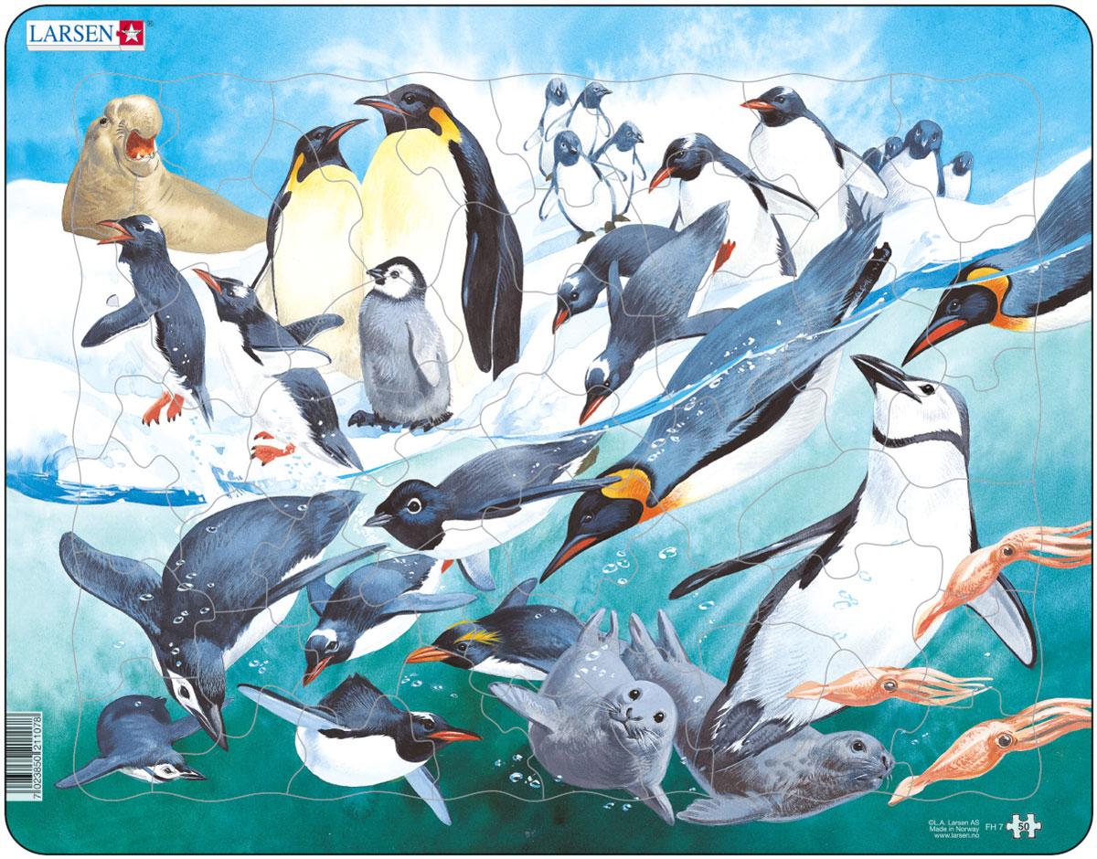Larsen Пазл Пингвины, L.A.Larsen AS