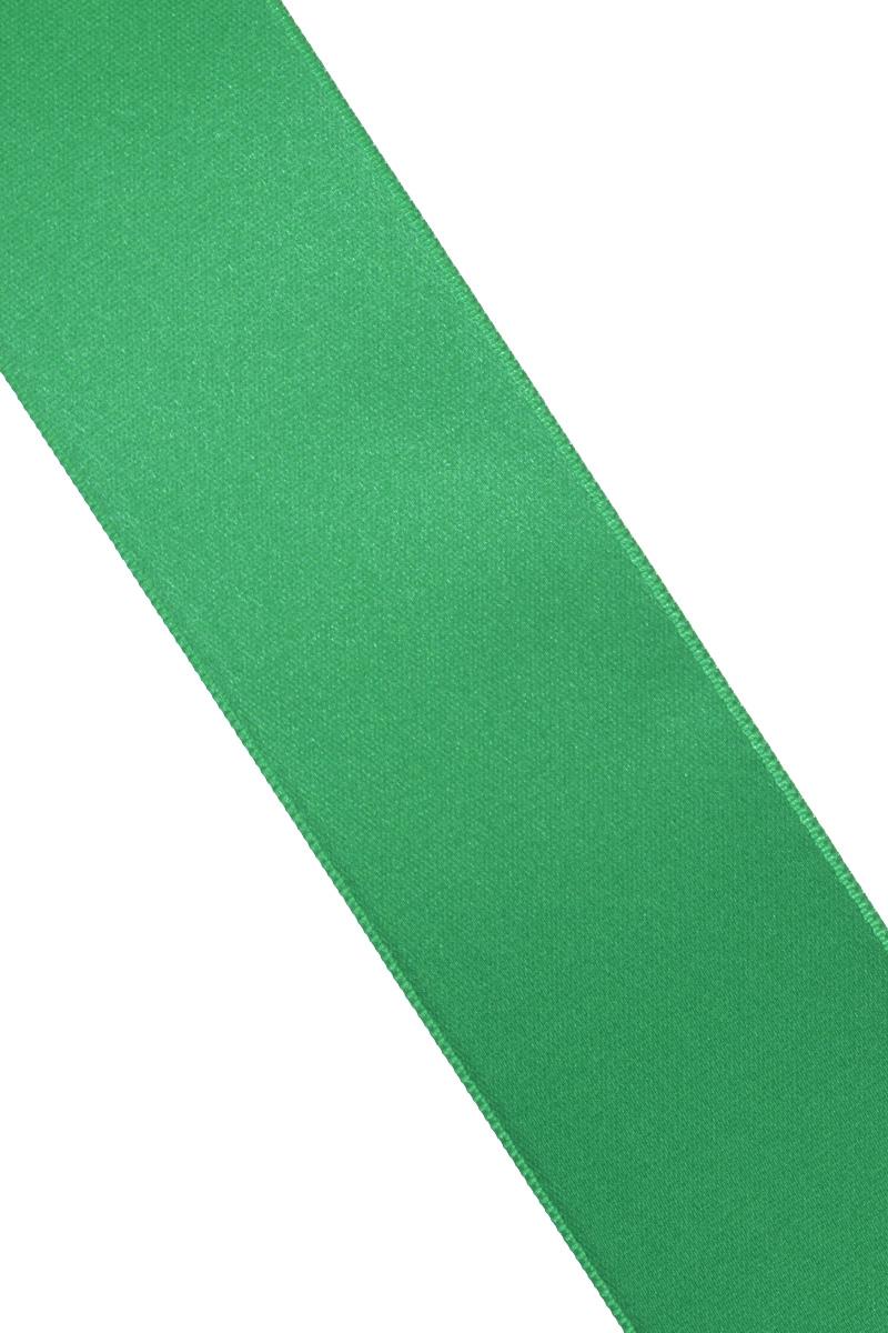 Лента атласная Prym, цвет: ярко-зеленый, ширина 38 мм, длина 25 мNLED-454-9W-BKАтласная лента Prym изготовлена из 100% полиэстера. Область применения атласной ленты весьма широка. Изделие предназначено для оформления цветочных букетов, подарочных коробок, пакетов. Кроме того, она с успехом применяется для художественного оформления витрин, праздничного оформления помещений, изготовления искусственных цветов. Ее также можно использовать для творчества в различных техниках, таких как скрапбукинг, оформление аппликаций, для украшения фотоальбомов, подарков, конвертов, фоторамок, открыток и многого другого.Ширина ленты: 38 мм.Длина ленты: 25 м.