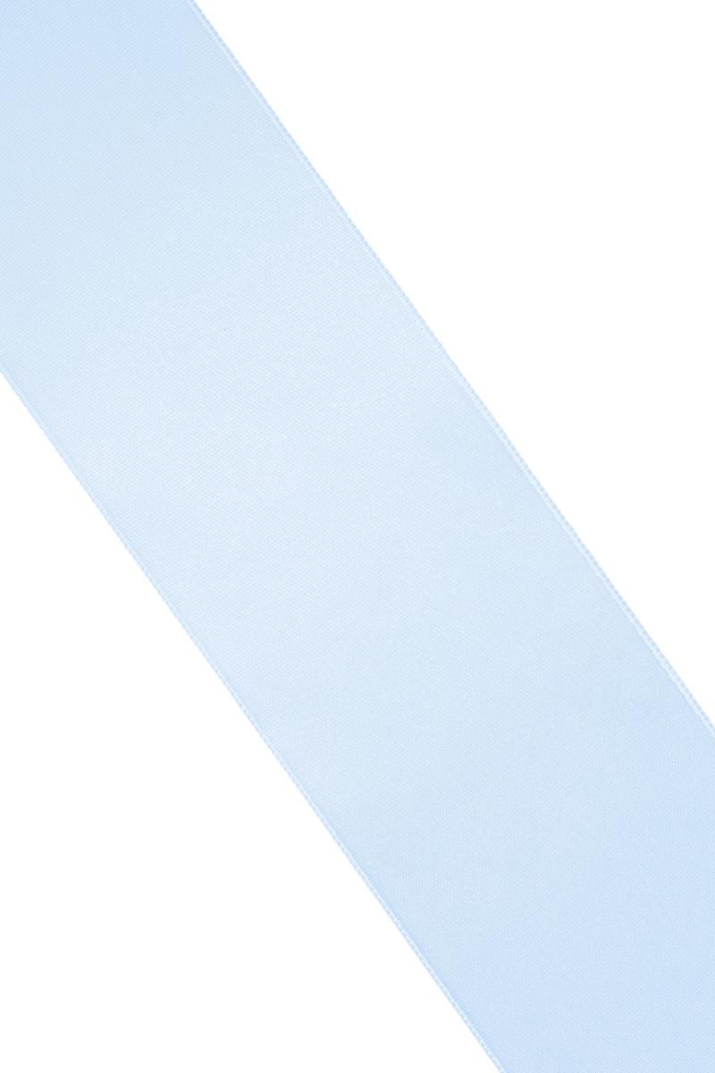 Лента атласная Prym, цвет: светло-голубой, ширина 50 мм, длина 25 м55052Атласная лента Prym изготовлена из 100% полиэстера. Область применения атласной ленты весьма широка. Изделие предназначено для оформления цветочных букетов, подарочных коробок, пакетов. Кроме того, она с успехом применяется для художественного оформления витрин, праздничного оформления помещений, изготовления искусственных цветов. Ее также можно использовать для творчества в различных техниках, таких как скрапбукинг, оформление аппликаций, для украшения фотоальбомов, подарков, конвертов, фоторамок, открыток и многого другого.Ширина ленты: 50 мм.Длина ленты: 25 м.