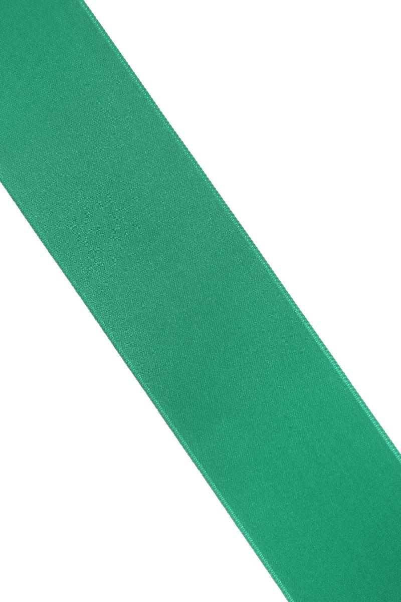 Лента атласная Prym, цвет: зеленый, ширина 38 мм, длина 25 м695806_43Атласная лента Prym изготовлена из 100% полиэстера. Область применения атласной ленты весьма широка. Изделие предназначено для оформления цветочных букетов, подарочных коробок, пакетов. Кроме того, она с успехом применяется для художественного оформления витрин, праздничного оформления помещений, изготовления искусственных цветов. Ее также можно использовать для творчества в различных техниках, таких как скрапбукинг, оформление аппликаций, для украшения фотоальбомов, подарков, конвертов, фоторамок, открыток и многого другого.Ширина ленты: 38 мм.Длина ленты: 25 м.