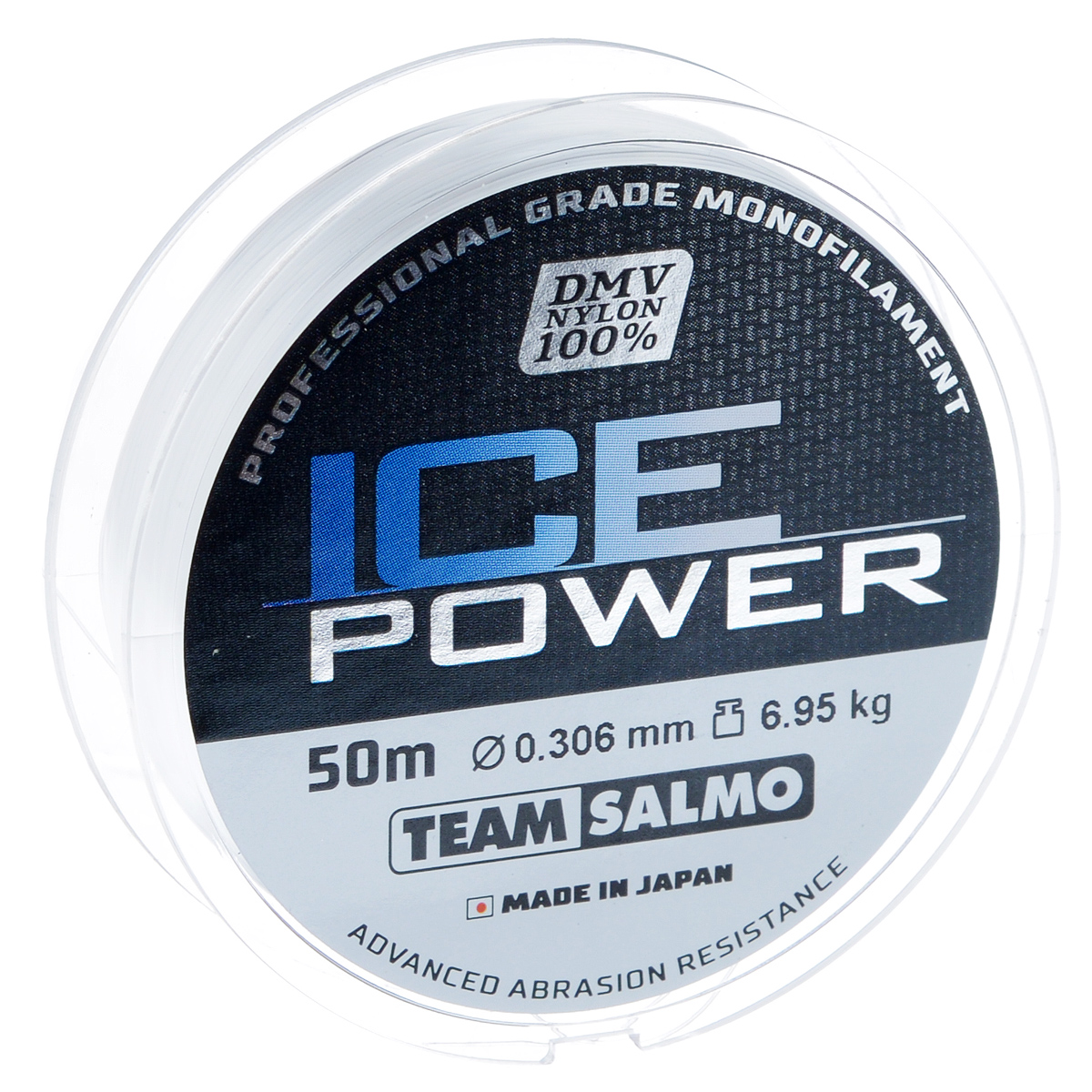 Леска монофильная Team Salmo Ice Power, сечение 0,306 мм, длина 50 м4271825Team Salmo Ice Power - это леска последнего поколения, идеально калиброванная по всей длине, с точностью, определяемой до третьего знака. Материал, из которого изготовлена леска, обладает повышенной абразивной устойчивостью и не взаимодействует с водой, поэтому на морозе не теряет своих физических свойств, что значительно увеличивает срок ее службы. У лески отсутствует память, поэтому в процессе эксплуатации она не деформируется. Низкий коэффициент растяжимости делает леску максимально чувствительной, при этом она практически незаметна для рыбы. Леска производится использованием самого высококачественного сырья и новейших технологий.