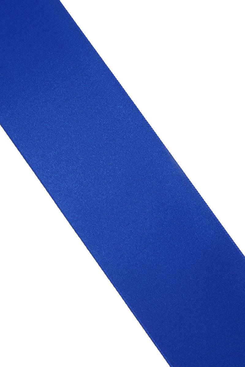 Лента атласная Prym, цвет: ярко-синий, ширина 50 мм, длина 25 м55052Атласная лента Prym изготовлена из 100% полиэстера. Область применения атласной ленты весьма широка. Изделие предназначено для оформления цветочных букетов, подарочных коробок, пакетов. Кроме того, она с успехом применяется для художественного оформления витрин, праздничного оформления помещений, изготовления искусственных цветов. Ее также можно использовать для творчества в различных техниках, таких как скрапбукинг, оформление аппликаций, для украшения фотоальбомов, подарков, конвертов, фоторамок, открыток и многого другого.Ширина ленты: 50 мм.Длина ленты: 25 м.