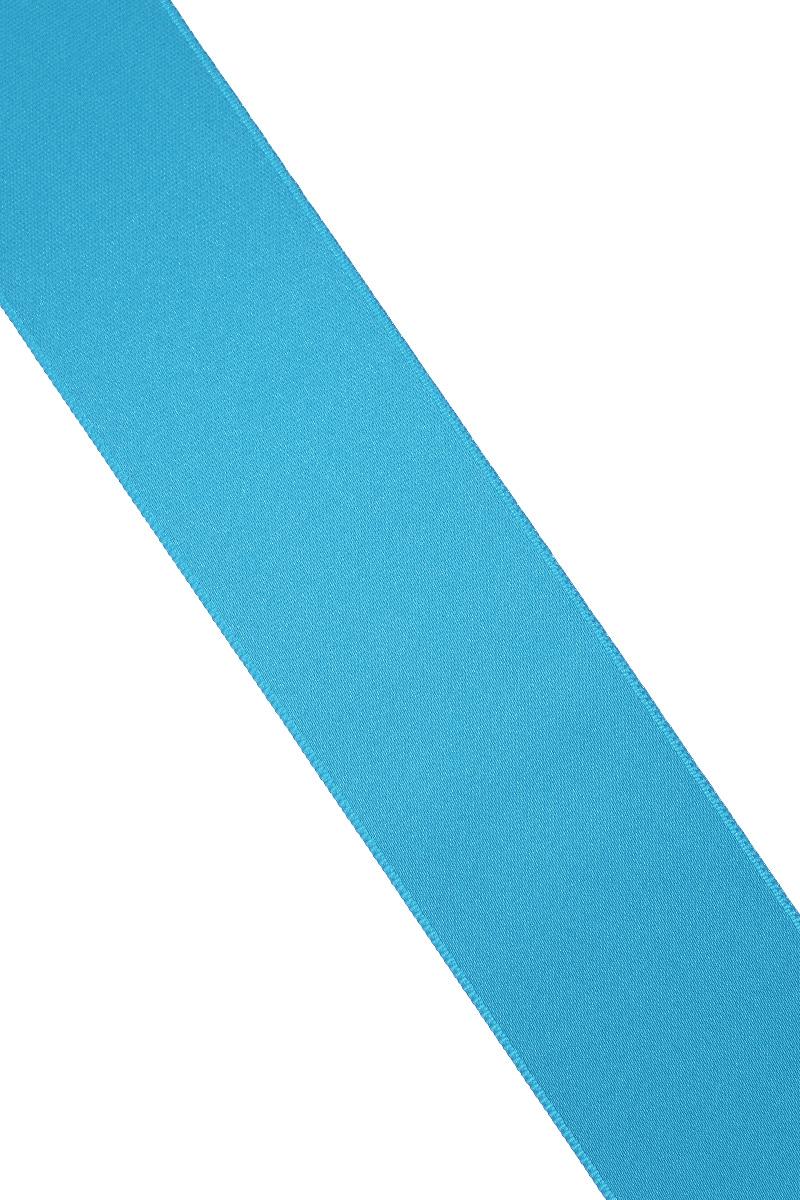 Лента атласная Prym, цвет: лазурный, ширина 38 мм, длина 25 м55052Атласная лента Prym изготовлена из 100% полиэстера. Область применения атласной ленты весьма широка. Изделие предназначено для оформления цветочных букетов, подарочных коробок, пакетов. Кроме того, она с успехом применяется для художественного оформления витрин, праздничного оформления помещений, изготовления искусственных цветов. Ее также можно использовать для творчества в различных техниках, таких как скрапбукинг, оформление аппликаций, для украшения фотоальбомов, подарков, конвертов, фоторамок, открыток и многого другого.Ширина ленты: 38 мм.Длина ленты: 25 м.