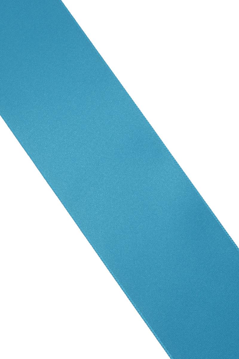Лента атласная Prym, цвет: лазурный, ширина 50 мм, длина 25 м19201Атласная лента Prym изготовлена из 100% полиэстера. Область применения атласной ленты весьма широка. Изделие предназначено для оформления цветочных букетов, подарочных коробок, пакетов. Кроме того, она с успехом применяется для художественного оформления витрин, праздничного оформления помещений, изготовления искусственных цветов. Ее также можно использовать для творчества в различных техниках, таких как скрапбукинг, оформление аппликаций, для украшения фотоальбомов, подарков, конвертов, фоторамок, открыток и многого другого.Ширина ленты: 50 мм.Длина ленты: 25 м.