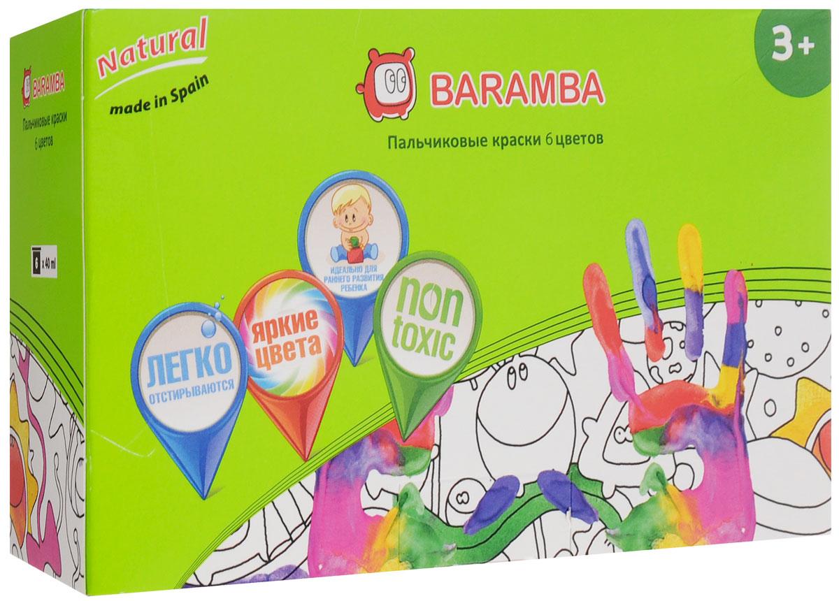 Baramba Краски пальчиковые 6 цветовFS-36054Пальчиковые краски Baramba представляют собой набор красок 6-ти цветов. Густые краски на водной основе, не вытекающие из баночки, легко смываются и быстро сохнут. Рисовать можно пальцами, ладонями, ступнями, кисточкой. Краски легко отстирываются от одежды. Идеальны для раннего развития ребенка. Емкость баночки 40 мл.