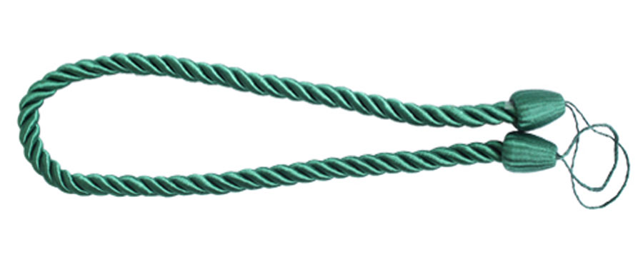 Подхват для штор Goodliving Шнур, цвет: зеленый (39), 2 шт1004900000360Подхват для штор Goodliving Шнур выполнен в виде витого шнура, на обоих концах которого имеются петли для крепления подхвата на крючок.Подхват - это основной вид фурнитуры в декоре штор, сочетающий в себе не только декоративную функцию, но и практическую - регулировать поток света. Подхваты способны украсить любую комнату.Длина подхвата: 52 см. Диаметр подхвата: 1,5 см.