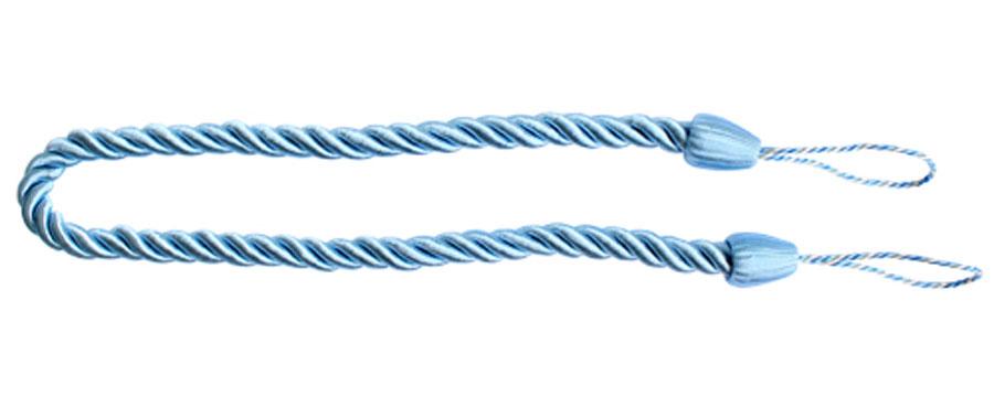 Подхват для штор Goodliving Шнур, цвет: голубой (64), 2 шт7711742_64 голубойПодхват для штор Goodliving Шнур выполнен в виде витого шнура, на обоих концах которого имеются петли для крепления подхвата на крючок.Подхват - это основной вид фурнитуры в декоре штор, сочетающий в себе не только декоративную функцию, но и практическую - регулировать поток света. Подхваты способны украсить любую комнату.Длина подхвата: 52 см. Диаметр подхвата: 1,5 см.