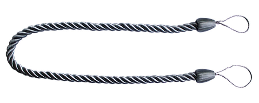 Подхват для штор Goodliving Шнур, цвет: серебристый (10), 2 штCDF-16Подхват для штор Goodliving Шнур выполнен в виде витого шнура, на обоих концах которого имеются петли для крепления подхвата на крючок.Подхват - это основной вид фурнитуры в декоре штор, сочетающий в себе не только декоративную функцию, но и практическую - регулировать поток света. Подхваты способны украсить любую комнату.Длина подхвата: 52 см. Диаметр подхвата: 1,5 см.