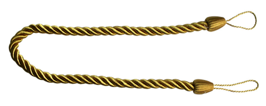 Подхват для штор Goodliving Шнур, цвет: золотистый (44), 2 штCDF-16Подхват для штор Goodliving Шнур выполнен в виде витого шнура, на обоих концах которого имеются петли для крепления подхвата на крючок.Подхват - это основной вид фурнитуры в декоре штор, сочетающий в себе не только декоративную функцию, но и практическую - регулировать поток света. Подхваты способны украсить любую комнату.Длина подхвата: 52 см. Диаметр подхвата: 1,5 см.