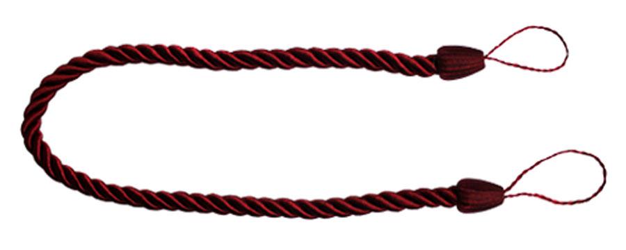Подхват для штор Goodliving Шнур, цвет: бордо (60), 2 штCLP446Подхват для штор Goodliving Шнур выполнен в виде витого шнура, на обоих концах которого имеются петли для крепления подхвата на крючок.Подхват - это основной вид фурнитуры в декоре штор, сочетающий в себе не только декоративную функцию, но и практическую - регулировать поток света. Подхваты способны украсить любую комнату.Длина подхвата: 52 см. Диаметр подхвата: 1,5 см.
