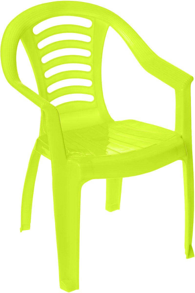 PalPlay Детский стульчик цвет салатовый0611,13Детский стульчик PalPlay станет незаменимым аксессуаром для игр ребенка как в помещении, так и на открытом воздухе. Легкий, но очень прочный стульчик эргономичной формы обеспечивает удобство и комфорт ребенку. Изделие имеет устойчивую конструкцию, удобные подлокотники и безопасные закругленные углы. Теперь у вашего ребенка будет отдельный стул, который идеально подойдет ему по размеру.