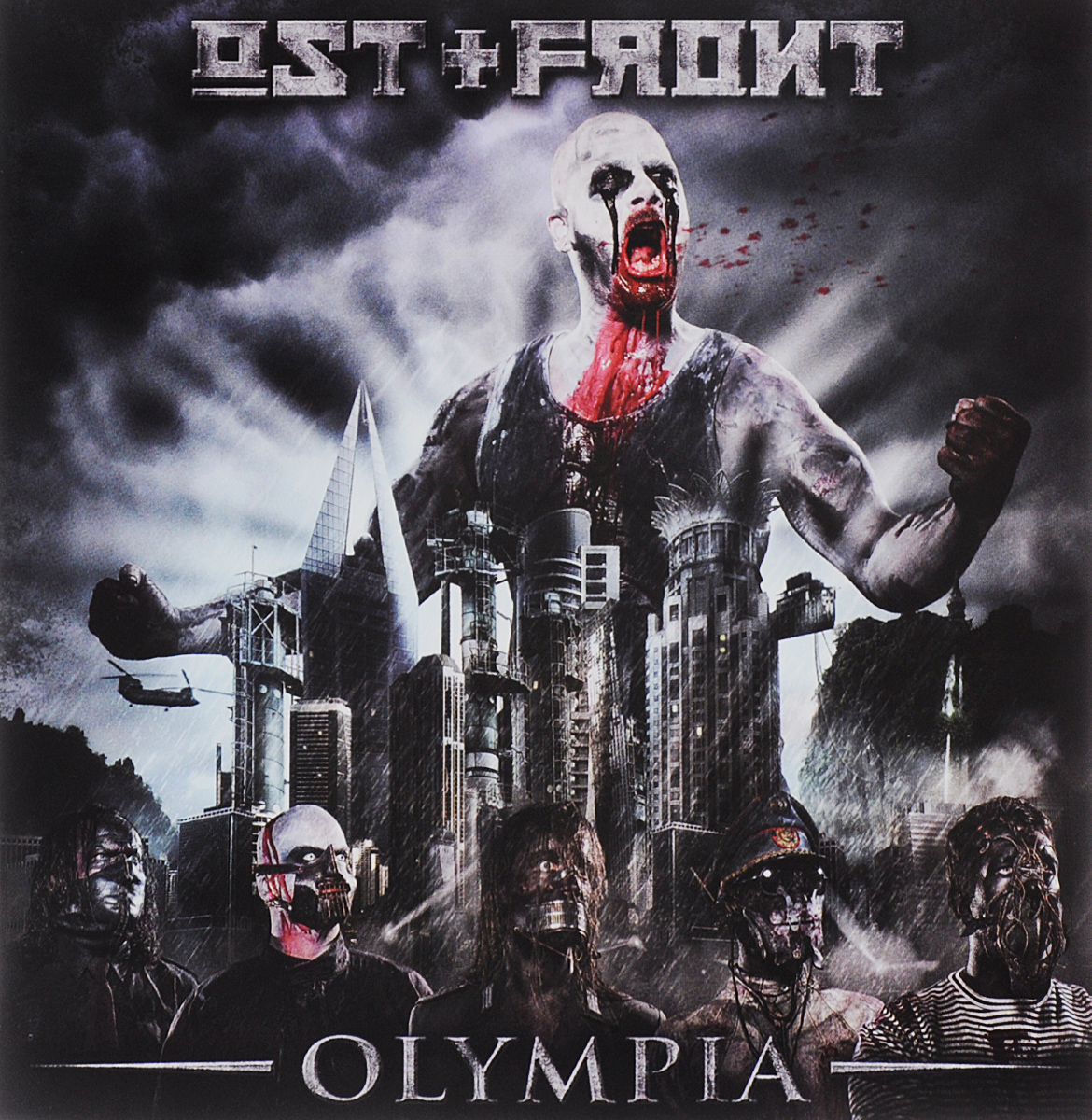 Ost+Front Ost+Front. Olympia australien ost карта