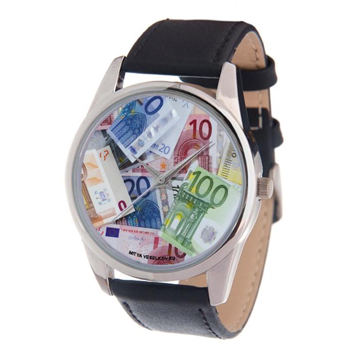 Zakazat.ru: Часы наручные мужские Mitya Veselkov Евро, цвет: серебряный, черный, мультицвет. MV-203