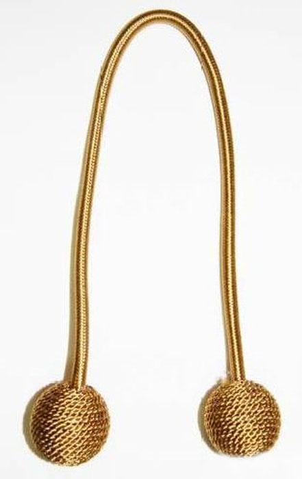 Подхват для штор Talzhou, цвет: золотой, длина 48 см, 2 шт7700045_2 золотойПодхват для штор Talzhou выполнен из текстиля и имеет внутри гибкую металлическую основу.Подхват - это основной вид фурнитуры в декоре штор, сочетающий в себе не только декоративную функцию, но и практическую - регулировать поток света. Подхваты способны украсить любую комнату.Длина подхвата: 48 см.Комплектация: 2 шт.
