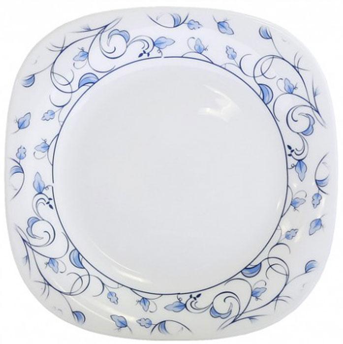 Тарелка Chinbull Нормандия, 21.5 смOFFP-85/310Тарелка Chinbull Нормандия, выполненная из высококачественной стеклокерамики, декорирована изображением листьев. Изящный дизайн придется по вкусу и ценителям классики, и тем, кто предпочитает утонченность. Тарелка Chinbull идеально подойдет для сервировки стола и станет отличным подарком к любому празднику. Не рекомендуется использовать в микроволновой печи. Размер тарелки (по верхнему краю): 21.5 смВысота стенки: 1,7 см.