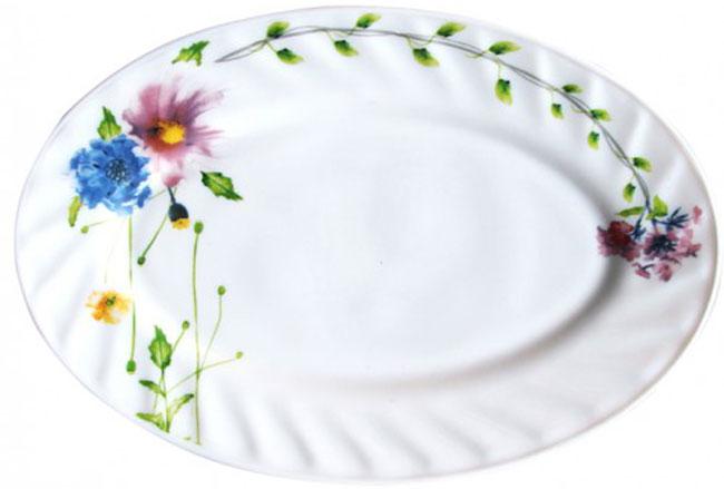 Блюдо Chinbull Флоренция, 25 х 17 см1280-34Блюдо Chinbull Флоренция, изготовленное из стеклокерамики, сочетает в себе изысканный дизайн с максимальной функциональностью. Красочность оформления придется по вкусу тем, кто предпочитает утонченность и изящность. Оригинальное блюдо украсит сервировку вашего стола и подчеркнет прекрасный вкус хозяйки, а также станет отличным подарком. Размер блюда (по верхнему краю): 25 см х 17 см.