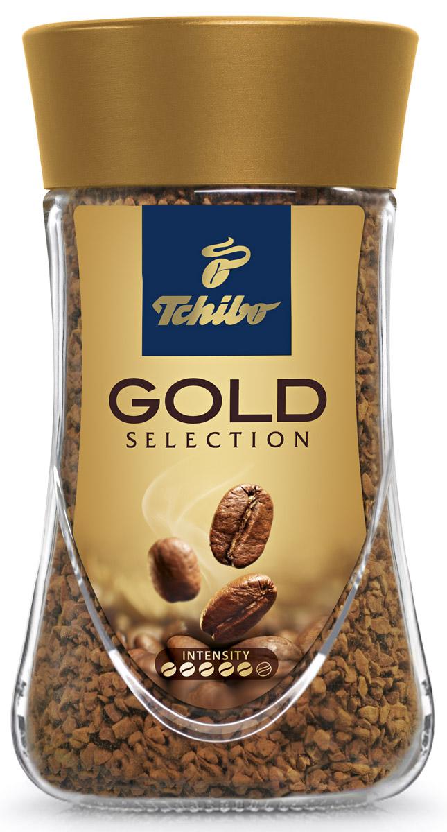 Tchibo Gold Selection кофе растворимый, 190 г0120710Порадуйте себя благородным вкусом и насыщенным ароматом кофе Tchibo Gold Selection. Зерна Tchibo Gold Selection тщательно обжариваются небольшими партиями до благородного золотисто-коричневого оттенка. Эта особая золотистая обжарка позволяет раскрыть необычайно богатый вкус и насыщенный аромат кофейных зерен.